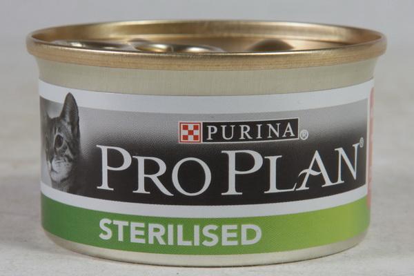 Корм pro plan sterilised