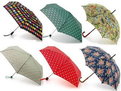 Модные зонты от известных фирм