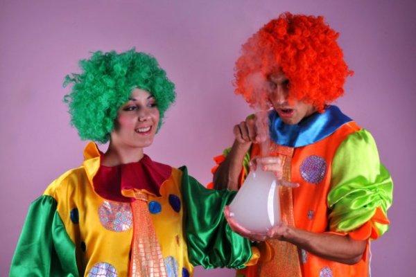 Клоуны на детский праздник или день рождения