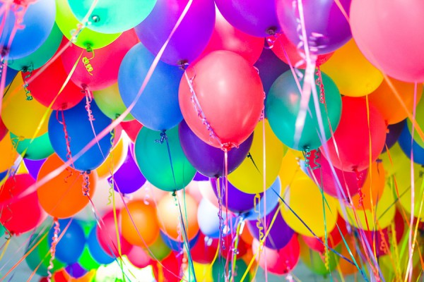 картинки с днем рождения шарики