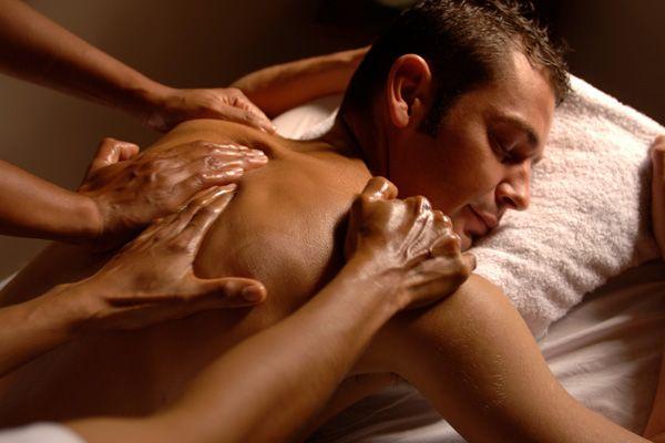 Необычный массаж для взрослых