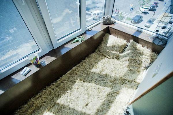 Как оборудовать балкон, если в доме есть собака?