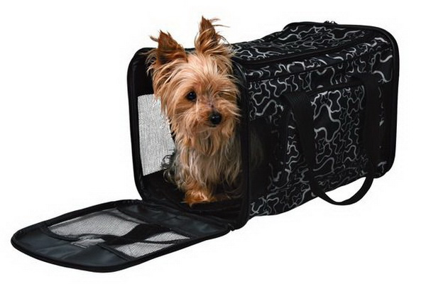 Сумка-переноска - удобное изделие для собаки и хозяина