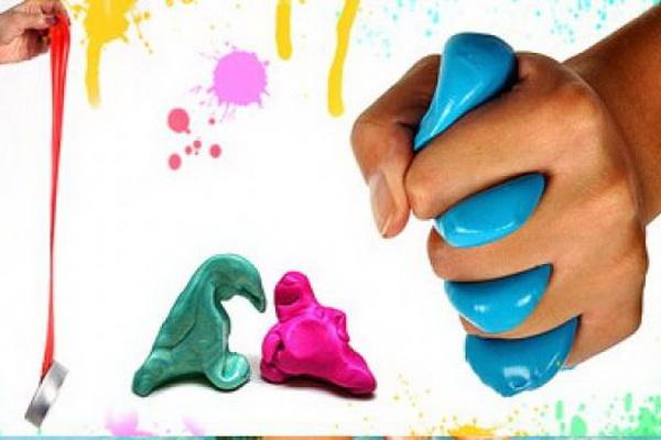 Жвачка для развития мелкой моторики рук