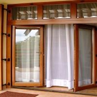 Окна из лиственницы со стеклопакетом