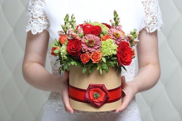 Как заказать доставку шикарного букета живых цветов
