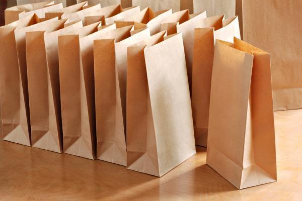 Покупка упаковочных пакетов