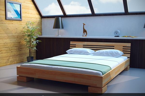 Выбираем деревянную кровать