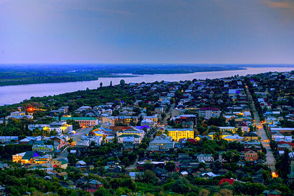 Вольск - патриархальный уголок Петербурга
